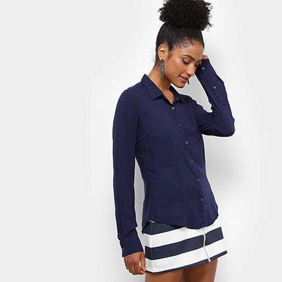 Camisa Aishty Manga Longa Feminina
