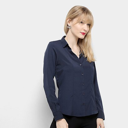 Camisa Manga Longa Aishty Lisa Feminina