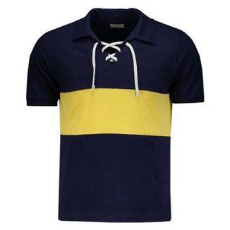 Camisa Boca Juniors Retrô 1919 Masculina df85a22ee3ef9