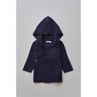 Cardiga Bebê Tricô Reserva Mini Básico Masculino fba62e529a7ce