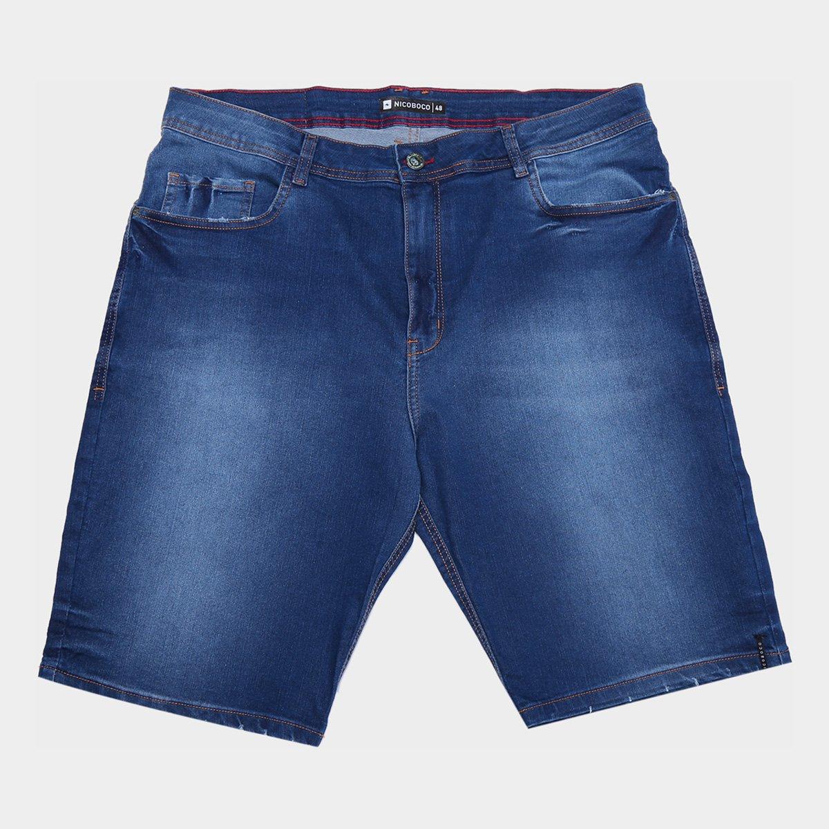 Bermuda Jeans Nicoboco Lisa Masculina