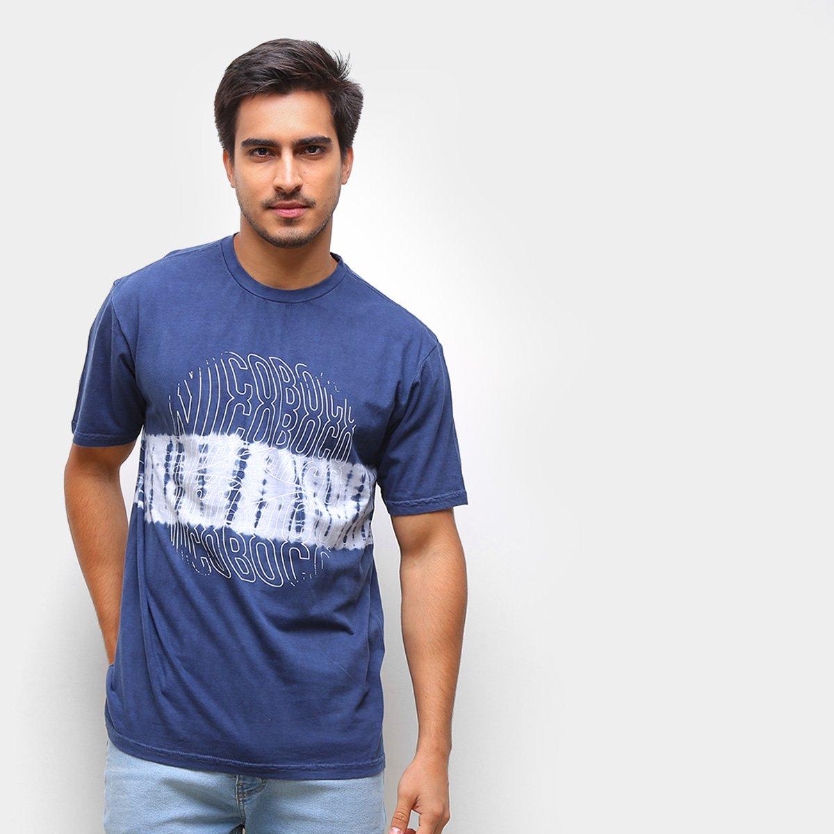 Camiseta Nicoboco Básica Tie Dye Masculina