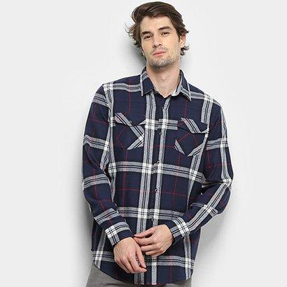 Camisa Gajang Xadrez Jhonson Nash Masculina