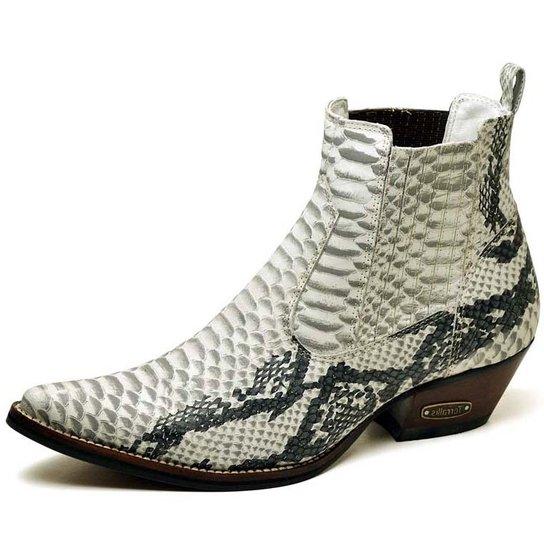 7ed9efe5119a4 Bota Top Franca Shoes Country - Cobra - Compre Agora