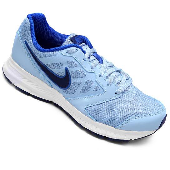 c6a65d078d Tênis Nike Downshifter 6 MSL Feminino - Azul Claro e Azul