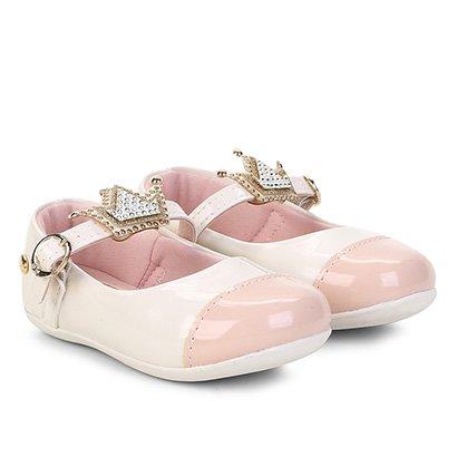 Sapatilha Infantil Klin Coroa Princessa Feminina