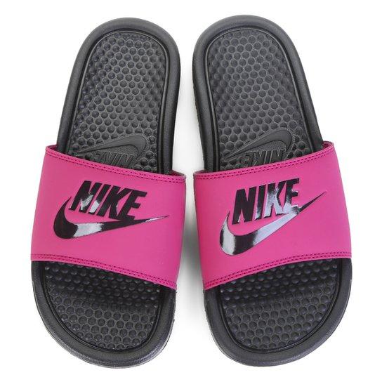 417dd8227c6979 Chinelo Nike Benassi JDI Slide Feminina - Pink