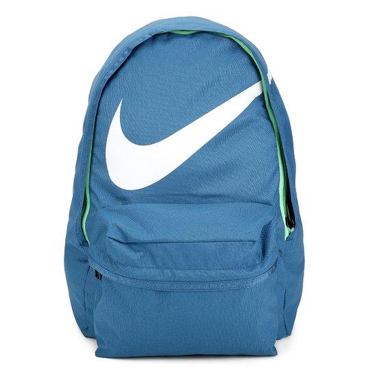 2fedc9745 Mochila Juvenil Nike Halfday BTS - Azul Petróleo+Verde Limão