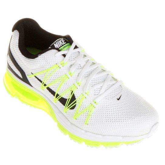 f051b1ea4c0 Tênis Nike Air Max Excellerate 3 - Branco+Verde Limão