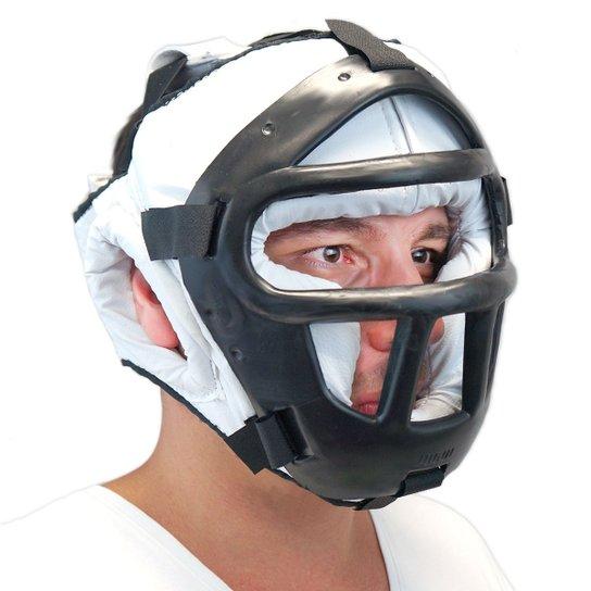 Protetor de cabeça c  grade Jugui - Branco - Compre Agora   Netshoes b60e55ca85