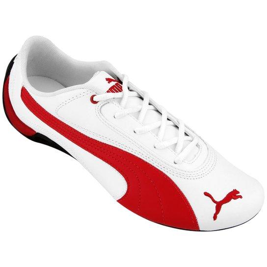 72e62ad838 Tênis Puma Drift Cat 2 - Branco+Vermelho