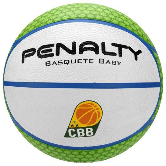 Bola Penalty Shoot 4 Infantil - Branco+Verde Claro 6ed6b072d450b