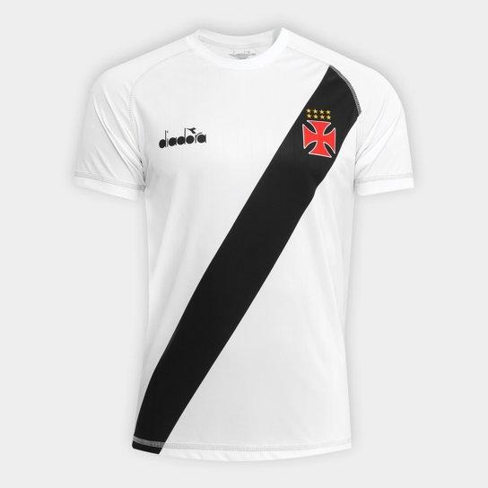 Camisa Vasco Transição II 2018 s nº - Torcedor Diadora Masculina - Branco c1a0131060216