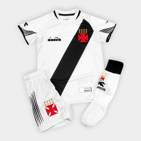 29711c36671e1 Kit Vasco Infantil II 2018 s n° Torcedor Diadora - Compre Agora ...
