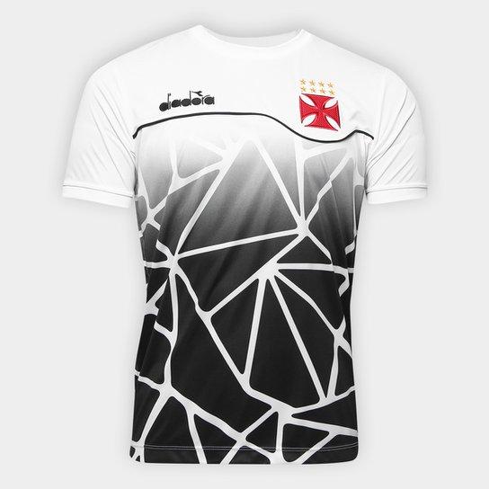 429057a755 Camisa Vasco Concentração 2018 Diadora Masculina | Netshoes