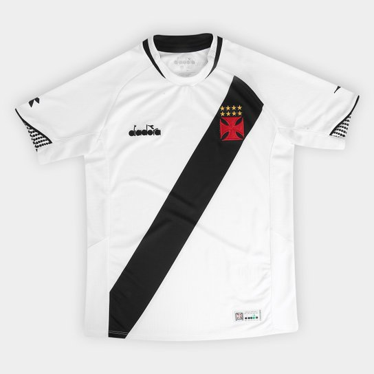 Camisa Vasco II Infantil 2018 s n° Torcedor Diadora - Branco ... be7a2e2966315