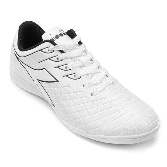 1a24c87d89 Chuteira Futsal Diadora Cage - Branco - Compre Agora