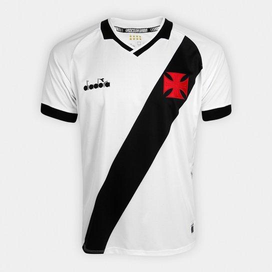6787f82aa Camisa Vasco II 19 20 s n° - Jogador Diadora Masculina - Branco ...