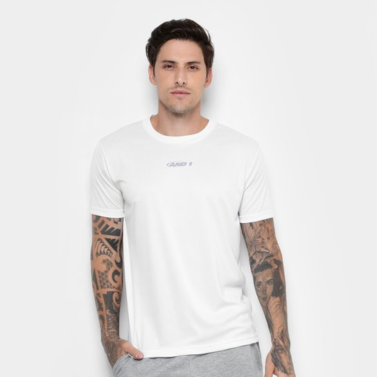 Camiseta And1 Classic Masculina - Branco - Compre Agora  34fff1810ca
