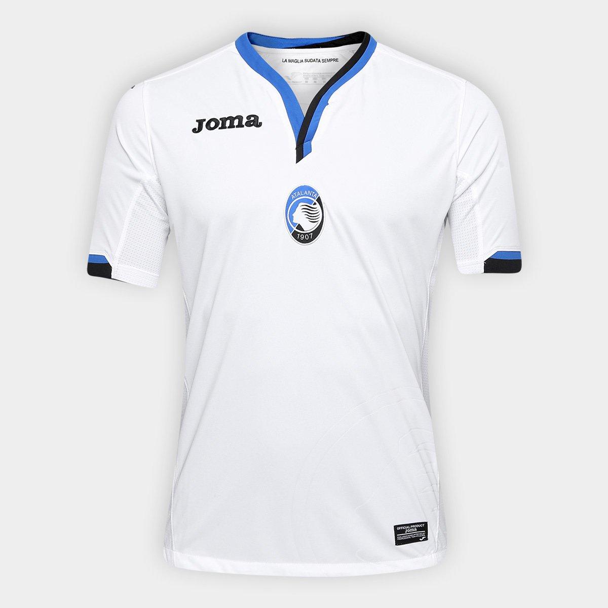 Camisa Atalanta Away 17 18 s n°- Torcedor Joma Masculina 2d65a8ac3a6ad