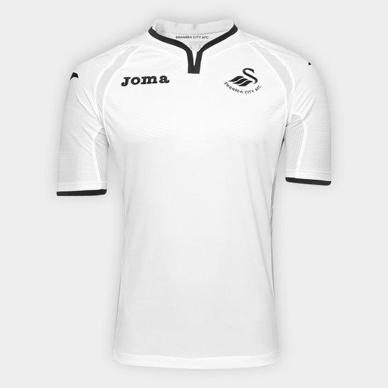 Camisa Swansea City Home 17 18 s n°- Torcedor Joma Masculina ... 0057b3e1cc3c7
