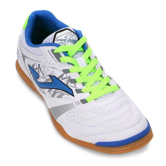 7a153c7a26 Chuteira Futsal Joma Maxima IN - Branco - Compre Agora