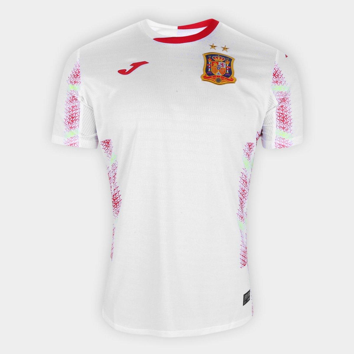 Camisa Seleção Espanha Futsal Away 20/21 s/n° Torcedor Joma Masculina