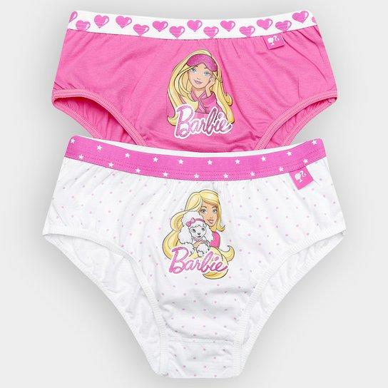 f6e6b00b4 Kit Calcinha Lupo Barbie 2 Peças Infantil - Compre Agora