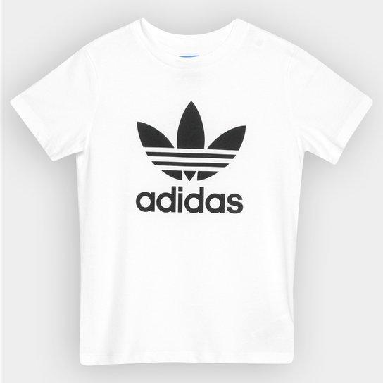 d68efd0bb77 Camiseta Adidas J Trefoil Infantil - Compre Agora