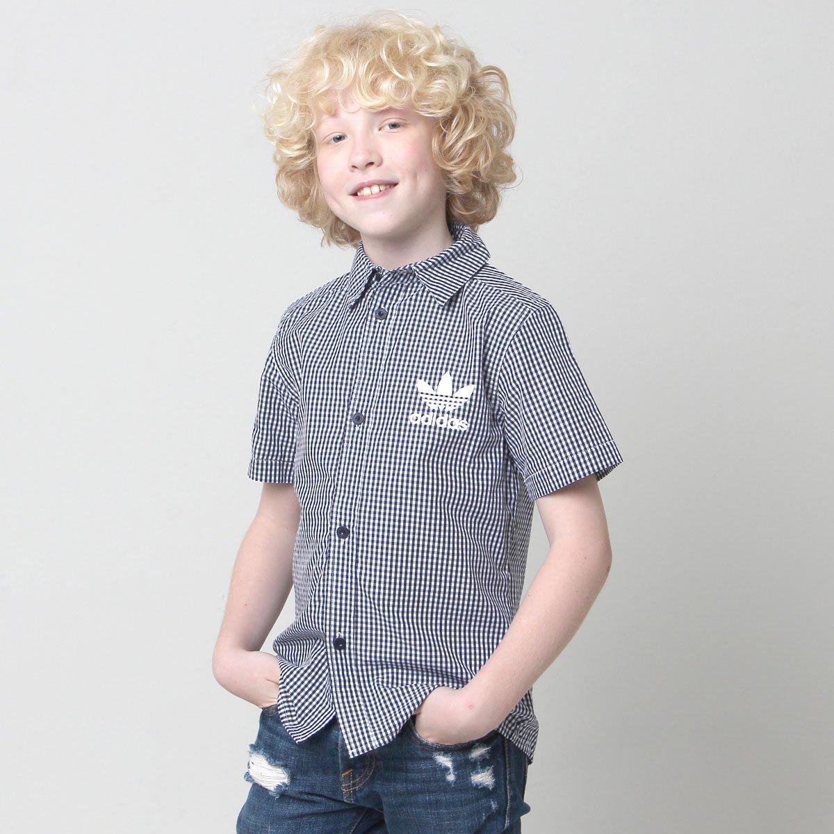 Camisa Adidas J Style Infantil
