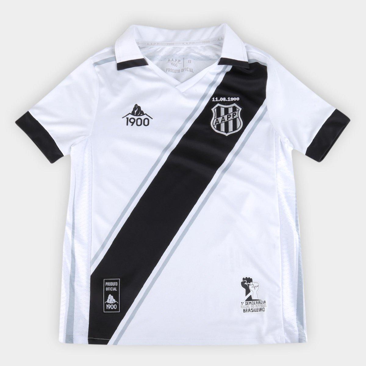 Camisa Ponte Preta Juvenil I 20/21 s/n° Torcedor 1900