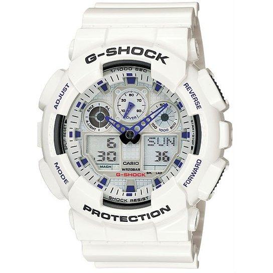3f92cb2f22f Relógio Casio G-Shock Ga-100A-7Adr - Compre Agora