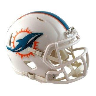 656206d5900b6 Capacete Miniatura 1 4 Riddell Miami Dolphins