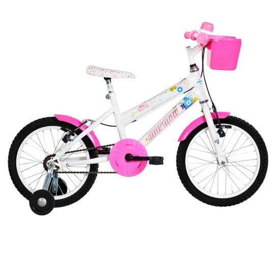 4d2560812 Bicicleta Mormaii Sweet Girl c  Capacete - Aro 16 - Compre Agora ...