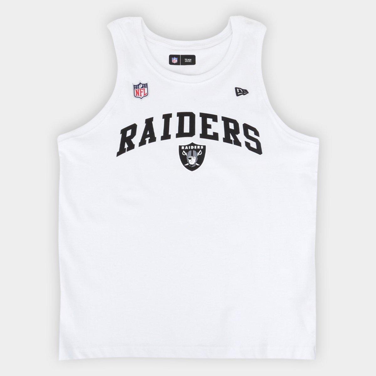 Regata Juvenil NFL Las Vegas Raiders New Era Masculina