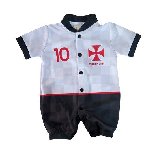 1501058902 Macacão Torcida Baby Vasco Estilo - Compre Agora