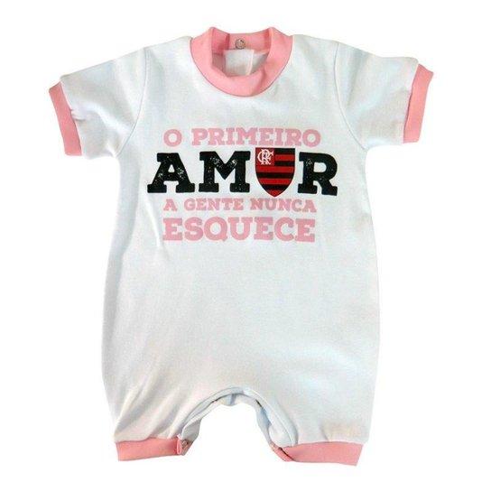 5076144a67dc0 Macacão Torcida Baby Flamengo Primeiro Amor - Compre Agora