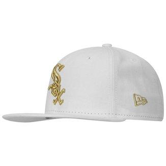 Compre Bone New Era Chicago White Sox Online  b17a8750f73