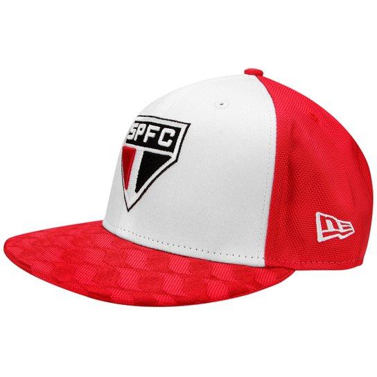 Boné New Era São Paulo Aba Reta 5950Fifty Masculino - Compre Agora ... 875ccbc8adb