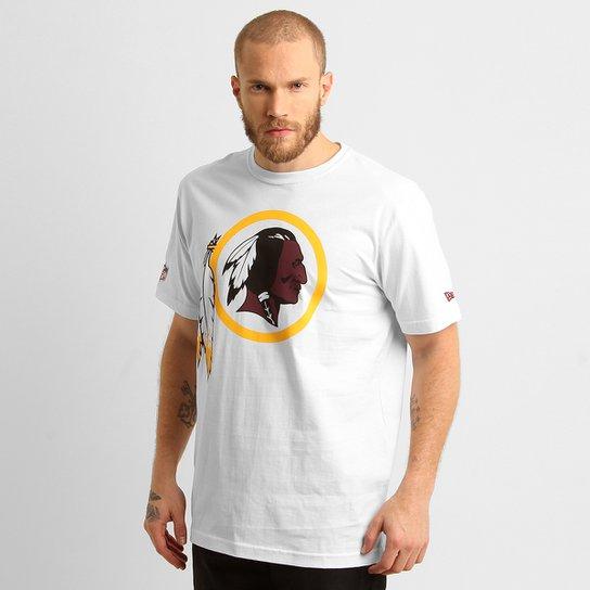 ea5b1da4c Camiseta New Era Washington Redskins - Branco - Compre Agora
