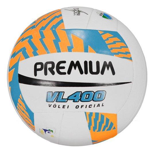 Bola de Vôlei Premium S Fusion VL 400 Oficial - Branco - Compre ... aae2f239621cd