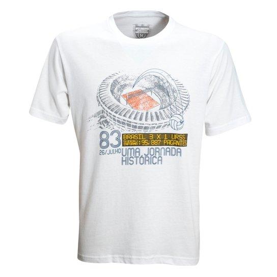 ef6145c69c Camisa Liga Retrô Volei Jornada 1983 - Branco - Compre Agora