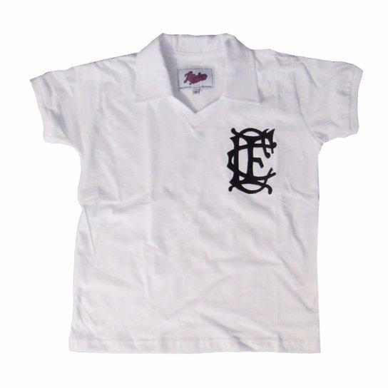 6b93c0e885 Camisa Liga Retrô Infantil Corinthian inglês 1910 - Branco - Compre ...