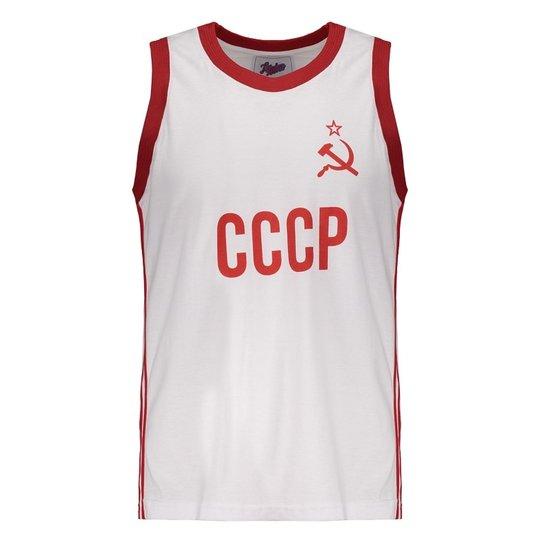 Regata União Soviética 1980 Basquete Retrô - Branco - Compre Agora ... bbe8decb16e