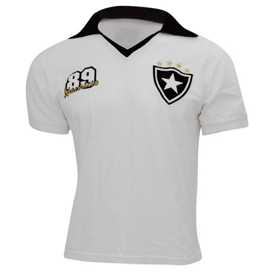 fe0391afa815c Camiseta Retrô Botafogo Liga Retrô a 1989 - Compre Agora