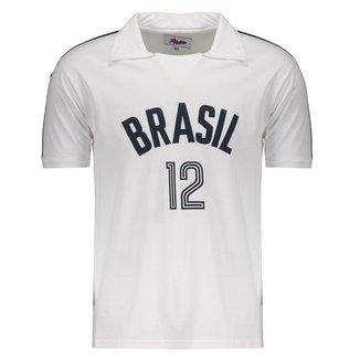 0cfa4424ec Camisa Brasil Vôlei Retrô Masculina