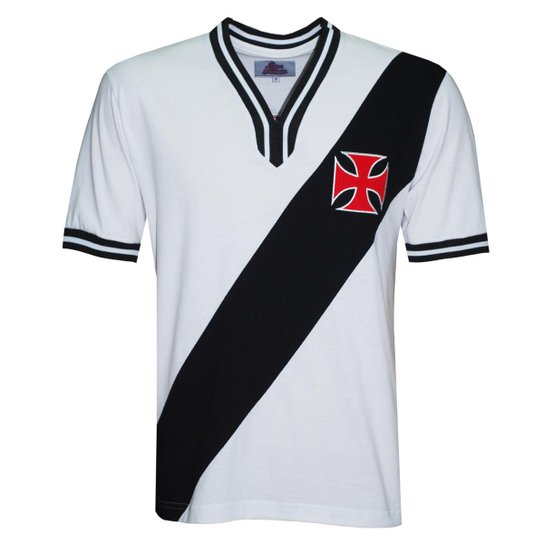 ee1eb3ad88 Casmisa Liga Retrô Vasco 1974 Masculina - Branco - Compre Agora ...