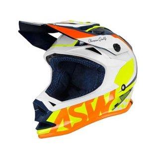 4079078980570 Capacete ASW Fusion Glory Moto Off Road