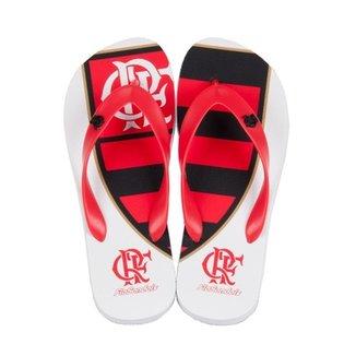 3745414264 Chinelo Flamengo Escudeto Classico