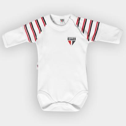 Body São Paulo Infantil Raglã Suedine